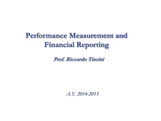 accounting methods for measuring performance