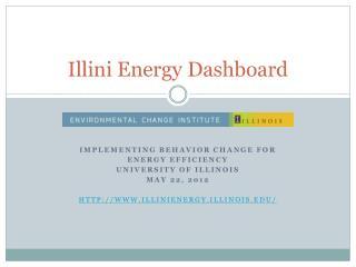 Illini Energy Dashboard
