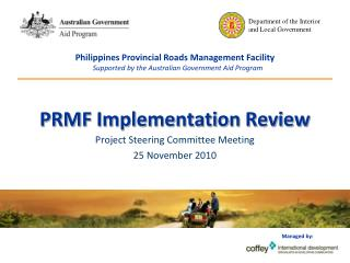 PRMF Implementation Review