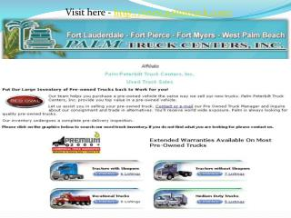 Truck Body Repair by Palm Truck Centers Body Shop