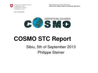 COSMO STC Report