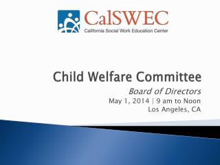 Child Welfare Committee