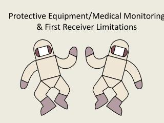 Protective Equipment/Medical Monitoring & First Receiver Limitations