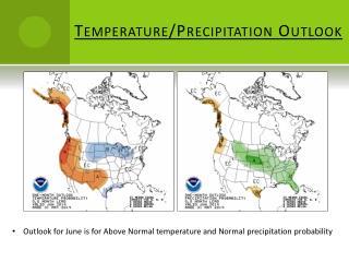 Temperature/Precipitation Outlook
