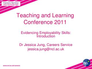 Teaching and Learning Conference 2011