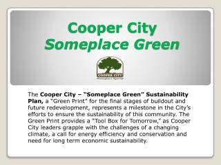 Cooper City Someplace Green