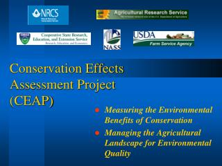 Conservation Effects  Assessment Project (CEAP)
