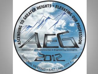 The AEG 2012 Annual Meeting Ascending to  g reater heights...  Elevating our profession