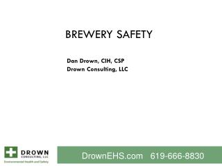 Brewery Safety