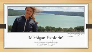 Michigan  Explorin '