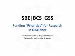 SBE | BCS | GSS