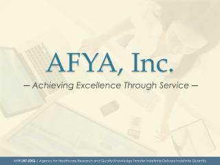 AFYA, Inc.