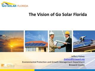 The Vision of Go Solar Florida