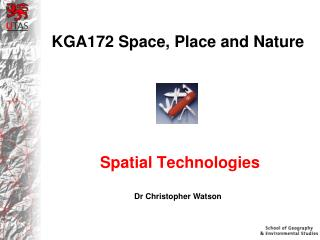 KGA172 Space, Place and Nature
