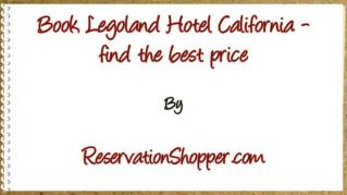 ppt 37384 Book Legoland Hotel California find the best price