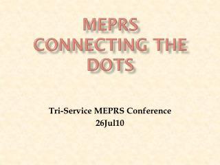meprs connecting the dots