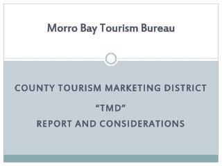Morro Bay Tourism Bureau