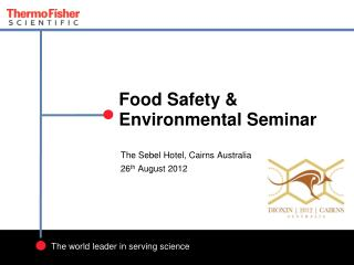Food Safety & Environmental Seminar