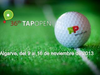 Algarve, del 9 al 16 de noviembre de 2013