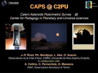 CAPS @ C2PU