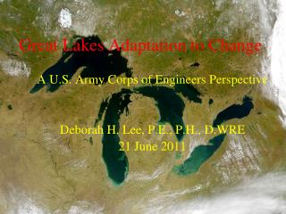 Great Lakes Adaptation to Change