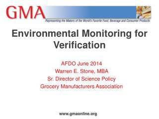 Environmental Monitoring for Verification