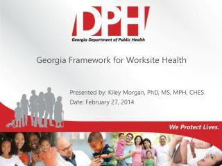 Georgia Framework for Worksite Health