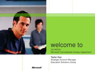 Microsoft MCCA 2007 Presentation ppt - Information and ...