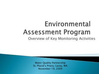 Environmental Assessment Program
