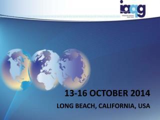 13-16 OCTOBER 2014