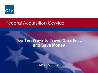 Top Ten Ways to Travel Smarter… and Save Money
