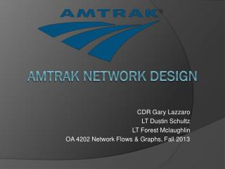 Amtrak Network Design