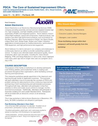 Host  Company: Axiom Electronics