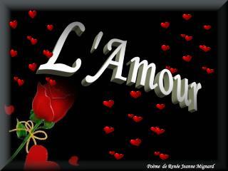 l amour est une fleur  close