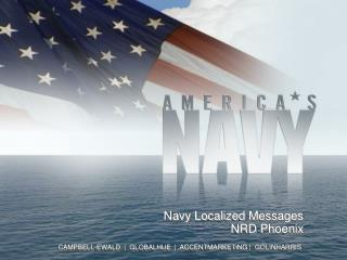 Navy Localized  Messages NRD Phoenix