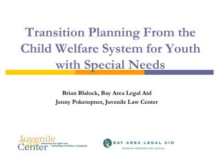 Transition Planning From the Child Welfare System for Youth with Special Needs