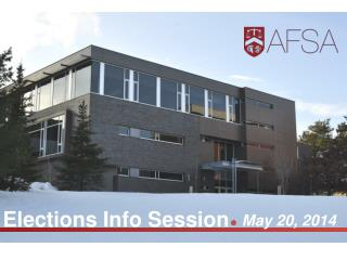 Elections Info Session