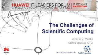 The Challenges of Scientific Computing