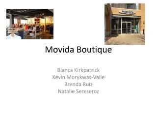 Movida  Boutique