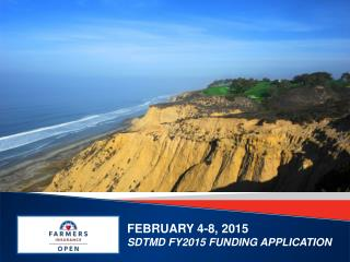 FEBRUARY 4-8, 2015 SDTMD FY2015 FUNDING APPLICATION