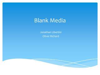 Blank Media