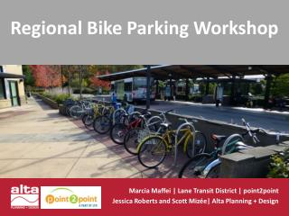 Regional  Bike Parking  Workshop