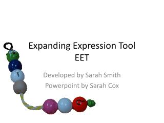 Expanding Expression Tool EET