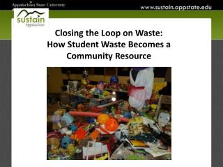 Closing the Loop on Waste: How Student Waste Becomes a  Community Resource