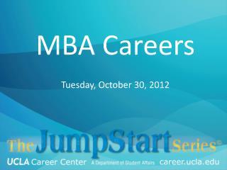 MBA  C areers