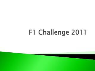 F1 Challenge 2011