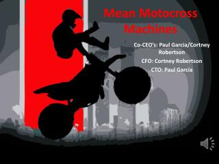 Mean Motocross Machines
