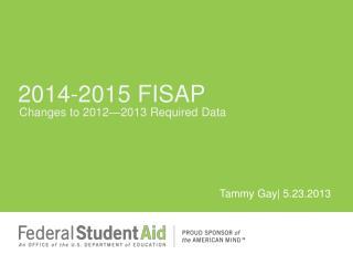 2014-2015 FISAP