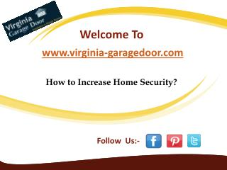 How to Increase Home Security