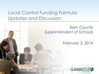 Local Control Funding Formula Updates and Discussion